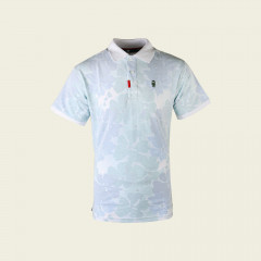 Golf Poloshirt - wit inside-out