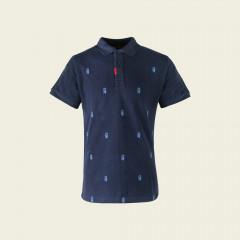 Golf poloshirt - navyblauw