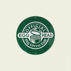Rond tekstbord groen – Official EGGhead