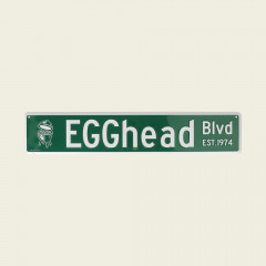 Straatnaambord EGGhead Blvd.