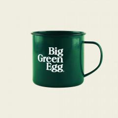 Big green egg mok emaille - groen