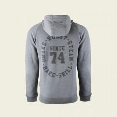 Hoodie - Since '74 - light grey