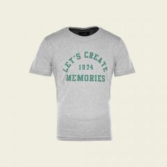 T-Shirt – Let's Create – grau