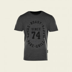 T-Shirt – Since '74 – holzkohlengrau