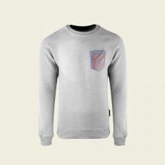 Sweater - Langoustine Art special edition - Lichtgrijs